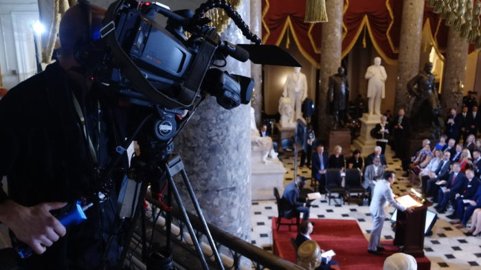 US capitol video production