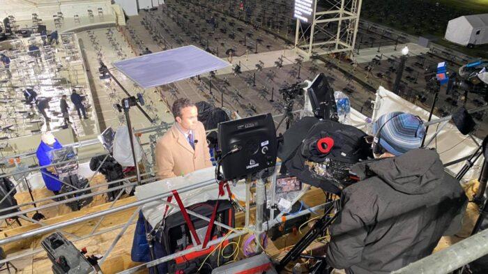 Washington DC standup positions and fiber transmission